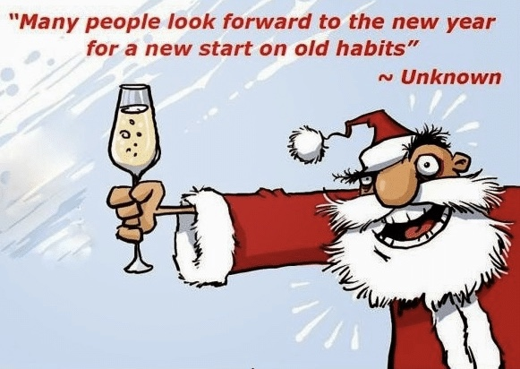Christmas New Year Meme